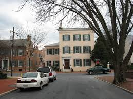 Das Haus Immobilien The Tyler Spite House In Frederick Maryland Built To Stop The