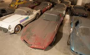 max corvette max corvette collection exhumed from parking garage