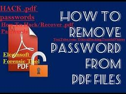 tutorial youtube pdf how to hack recover pdf passwords in easy steps using forensics