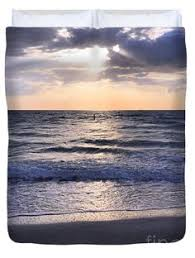 The Bay Duvets Tampa Skyline Over The Bay Duvet Cover For Sale By Carol Groenen