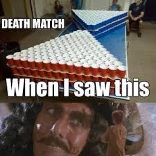 Beer Pong Meme - beer pong death match by captn mikemike meme center