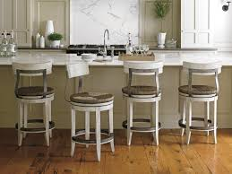 Round Bar Stool Covers White Leather Bar Chairs Stylish Bar Chair Lumbar Support White