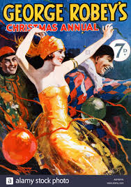george robey christmas annual 1929 cover of the popular magazine