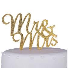 mr mrs cake topper unik occasions mr and mrs script acrylic cake topper gold