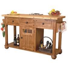 Kitchen Islands On Wheels by Kitchen Island Butcher Block Top Medium Brown Wood Cart Kitchen