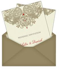 asian wedding invitations letter style indian asian email wedding card 4 luxury indian