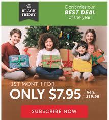 black friday kids best black friday 2016 subscription box deals for kids hello