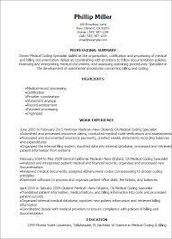 billing resume exles coder resume sle cv resume