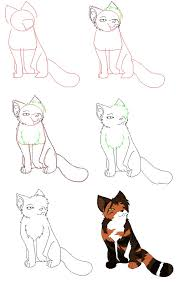 how to draw a cat my first tutorial by blackclawwarrior on