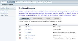 Service Desk Courses Lsu Alexandria Dropping Classes