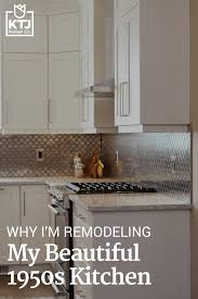 why i u0027m remodeling my beautiful 1950s kitchen ktj design co