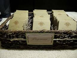 basket for wedding programs 10 ideas for your wedding program wording bestbride101