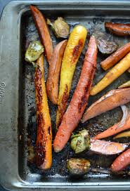 Oven Roasted Root Vegetables Balsamic - honey balsamic roasted veggies fit foodie finds