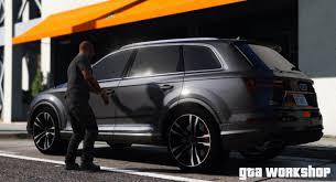 Audi Q7 2017 - gta 5 mod audi q7 2017 fast drive pc 60 fps gta v