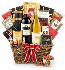 toast of california wine basket wine baskets embark on a