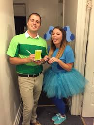 blues clues and steve couple halloween costume diy my halloween