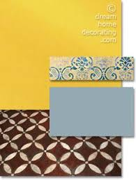 in tuscan color palettes hues of deep sky blue celadon green