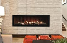 linear gas fireplace insert how much does a cost design ideas