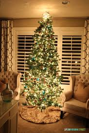 blue christmas blog hop trees life on virginia street