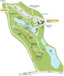 Royal Botanical Gardens Melbourne Map Maps