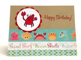 beach birthday card u2013 gangcraft net