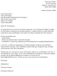 cover letter system analyst computer cover letter computer