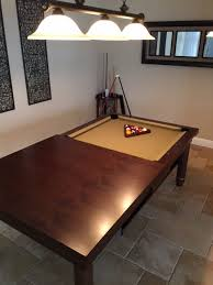 Best Pool Table Dining Room Table Gallery Chynaus Chynaus - Pool table disguised dining room table