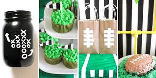 football party ideas big football party ideas our mini family
