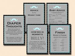 gentleman baby shower baby blue turquoise mustache baby shower printables
