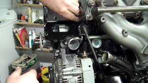 corvette alternator bracket ps alt bracket install 4