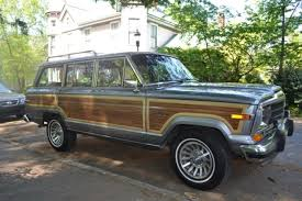 old jeep grand wagoneer hemmings find of the day 1991 jeep grand wagoneer hemmings daily