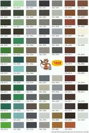 hp velotechnik service colour chart for powder coating recumbent