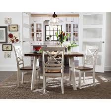 Farmhouse Table And Chairs Dining Chair With Arms Black And White Farmhouse Cottage U0026 Country Kitchen And Dining Room Table Sets
