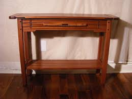 Hall Table Plans Greene And Greene Hall Table Finewoodworking