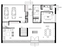 home design layout gp house by bitar arquitectos
