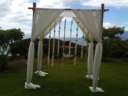 bamboo chuppah arch ceremony weddingbee