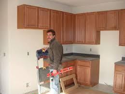 Diy Kitchen Cabinet Install Impressive Amazing Installing Kitchen Cabinets Diy Installing