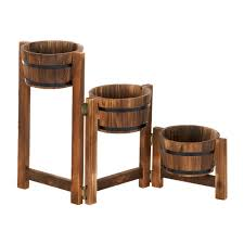 Outdoor Planters Large by Large Planters Outdoor Flower Planters Contemporary Apple Barrel