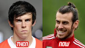 gareth bale new haircut gareth bale transformation then and now face body moth chin