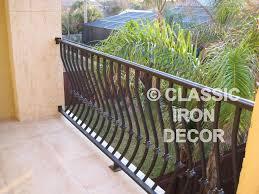 balconey balcony railing balconies classic iron decor inc
