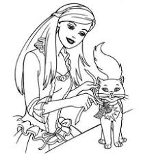 free printable barbie coloring pages 6103