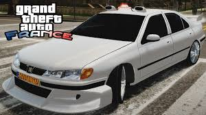peugeot auto france gta france peugeot 406 taxi 2 movie car mod 2015 youtube
