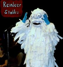 abominable snowman costume twas the before christmas musical play script for kids
