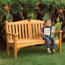 Woodworking Projects Free Plans Pdf by Woodworking Project Paper Plan To Build Comfy Classic Garden Bench