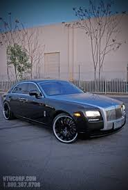 custom rolls royce ghost rolls royce ghost on custom painted u201cmartuni u201d giovanna wheels