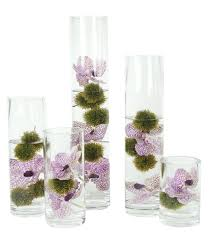Tall Glass Vase Centerpiece Decorating Glass Cylinder Vases
