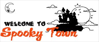 diy halloween decor create a simple spooky town the creative
