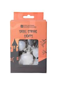 halloween skull string lights mountain warehouse gb