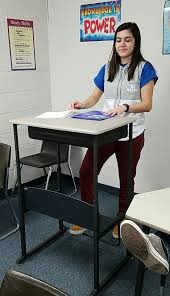 Desks For High School Students by Stand And Deliver Bettendorf High School Classroom Tests Standing
