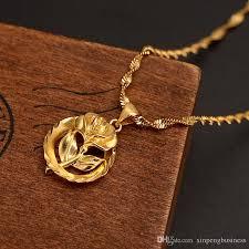 fine name necklace images Wholesale dubai pendant women pendant necklace 24k fine solid jpg